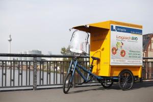 Elektrifiziertes Lastenrad von Velogista (© Velogista)