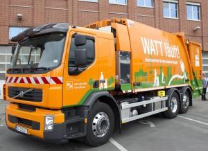 Elektrisches Müllsammelfahrzeug der BSR (© BSR)